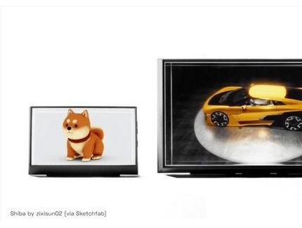 裸眼3D显示器Looking Glass将于7月下旬在日本开售