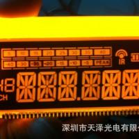 厂家直供设计定制LCD黑白段码屏点阵屏液晶屏背光源导光板
